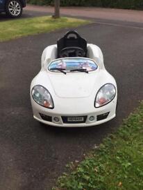 White toy car