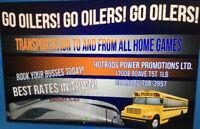 Eskimo and Oiler Games Buses