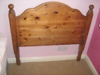 Two Antique Pine single/bunk beds