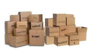 MOVING BOXES - ASSORTED SIZES
