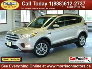 2017 Ford Escape SE 4WD, Leather, Twin Sunroof, LOADED!