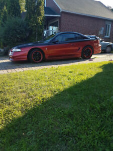 MUSTANG GT 351 CHERRY RED