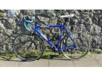 RIBBLE AUDAX Road Bike. Mens blue cycle lightweight