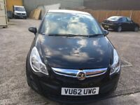 Vauxall corsa 1.3 diesel black £30 road tax full service history one former keeper