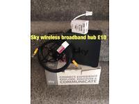 Sky wireless hub