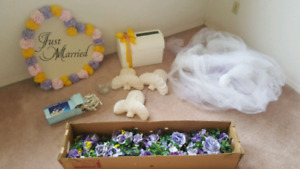 WEDDING FLOWER AND DECOR PKG