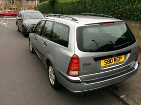 ford focus estate 1 years mot private plate
