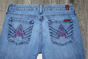 Seven For All Mankind Pixelated A Pocket jeans 28