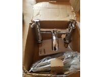 Bath Shower Mixer with kit dual lever