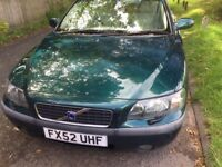 AUTOMATIC VOLVO S60 VERY GOOD CONDITION DRIVES QUITE AND SMOOTH