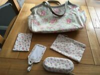 Cath Kidston bag and accessories