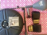 Everlast hyperflex strike bag 3in1 ultimate workout + Gloves and DVD