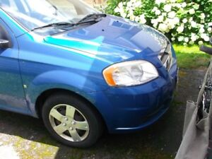 2009 Chevrolet Aveo base Sedan, first owner