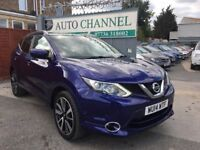 Nissan Qashqai 1.6 dCi Tekna 5dr£10,995 p/x welcome 6 MONTH FREE WARRANTY.NEW MOT!