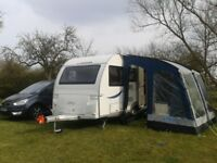 2012 Adria Altea 390DS 4 Berth touring caravan