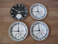 Four Stylish Ralph Lauren Side Plates- Clock Face Design - Quick Sale!