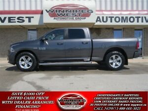 2014 Dodge Ram 1500 SPORT CREW 4X4,LEATHER,ROOF,NAV, LOADED MB T