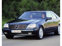 Wanted Mercedes CL 420 500 - CL420 CL500 W140 C140