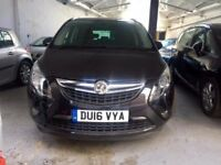 2016 Vauxhall Zafira 2.0 Diesel Automatic 7 Seater with just 5,000 Miles PCO/UBER/PHV LICENSE READY