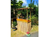 Tiki pop up bars for hire & sale