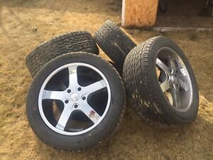 Tires, Rims and Pressure Sensors