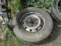 ldv maxus spare wheel with tyre 205/75r16
