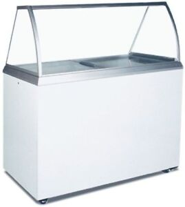 Caravell Commercial Ice Cream Freezer