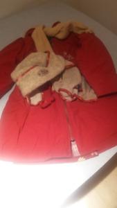 Manteau pour fille 3X