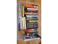 DVD & book job lot - various. £5 ono