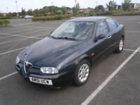 ALFA ROMEO 156 1.9JTD TURBO DIESEL LEFT HAND DRIVE LHD CAR WITH AIR CONDITIONING