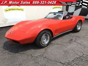 1974 Chevrolet Corvette 4 Speed Manual, L-48
