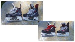 Youth Skates -  Bauer Vapor X size 4D, CCM Jetspeed size 3D