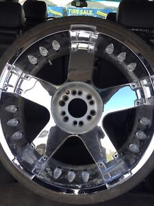 """24"""" Player Rims For Sale Or Trade"""