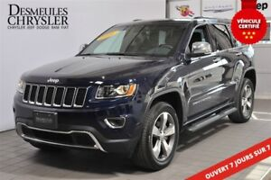 2016 Jeep Grand Cherokee LIMITED**MAGS 20''**ÉCRAN 8.4''**