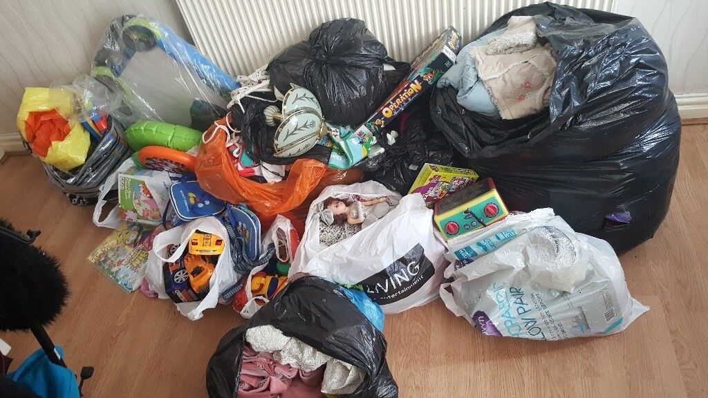 Joblot of mixed items perfect for carboot seller