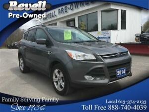 2014 Ford Escape SE 4WD  *1-owner   Only 41K Leather Navigation