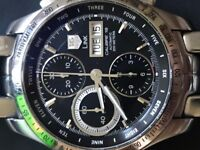 TAG Heuer Men's CJF211A.BA0594 Link Automatic Chronograph Day-Date Watch