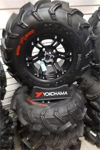 """CLEARANCE // MAXXIS 26"""" MUDBUG ATV TIRES ON ITP SS212 RIMS"""