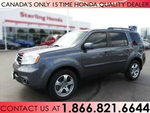 2015 Honda Pilot EX-L, REAR ENTERTAINMENT SYSTEM, TINT, 1 OWNER