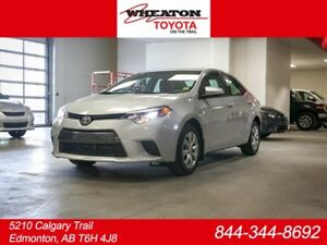 2015 Toyota Corolla LE, HEATED SEATS, TOUCH SCREEN, BACK UP CAME