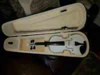 White violin