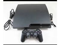 Ps3 Slim 120GB 2 controllers