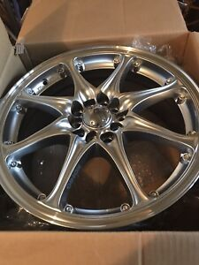 "BRAND new 17"" konig absolute 5on100/112 universal $460 OBO"