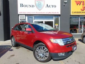 2010 Ford Edge Limited-Leather, Heated Seats, Pano-Roof, Chr Wh
