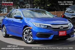 2017 Honda Civic LX BLUETOOTH HEATED SEATS REAR CAMERA
