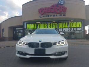 2013 BMW 3 Series 320I XDRIVE, LEATHER P-ROOF WHITE LEATHER