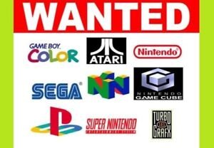 Have unwanted video games? Get cash today!!