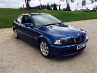 2003 Bmw 318Ci 2.0 Se Coupe Blue Metallic