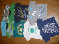 Bundle of 10 summer tops/ t-shirts for boy 2-3 years/ 2-3years. Very good and good condition!
