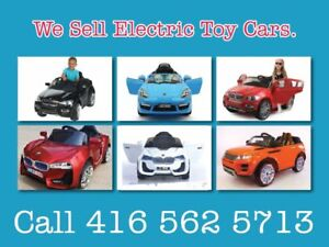 Electronic Toy Cars